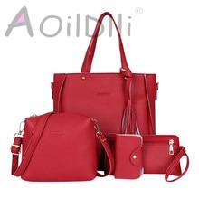Four-piece bag luxury handbags women bags designer 2019 new