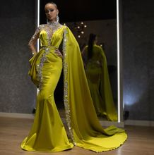 Роскошные вечерние платья с кристаллами в арабском стиле Дубай