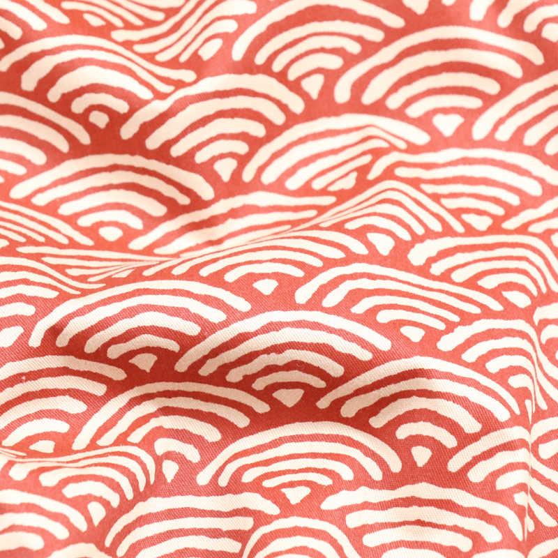 160CM * 50CM 일본 웨이브 코 튼 원단 패치 워크 아기 퀼트 침구 바느질 의류 퀼트 바느질 공예 재료 천으로