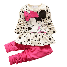 Kids Baby Girl Clothes Print Outfits