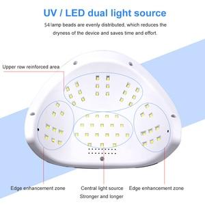 Image 3 - Pro 120W Uv Lamp Led Nail Lamp High Power Voor Nagels Alle Gel Polish Nail Dryer Auto Sensor Zon led Light Nail Art Manicure Gereedschappen
