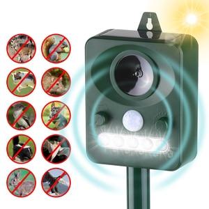 Solar Ultrasonic Dog Repeller