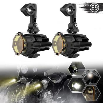 KEMiMOTO Fog Lights for BMW R1200GS LC R 1250GS R1250GS F800GS GSR1200 F850GS F750GS Adv 1200 GS Motorcycle Light Guards Cover