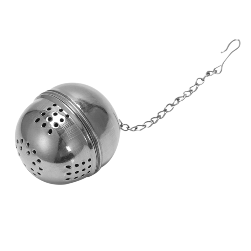 Tea Ball Strainer Infuser Stainless Steel Ball Tea Infuser Mesh Filter Strainer With Hook Loose Tea Leaf Spice Ball With Rope Ch