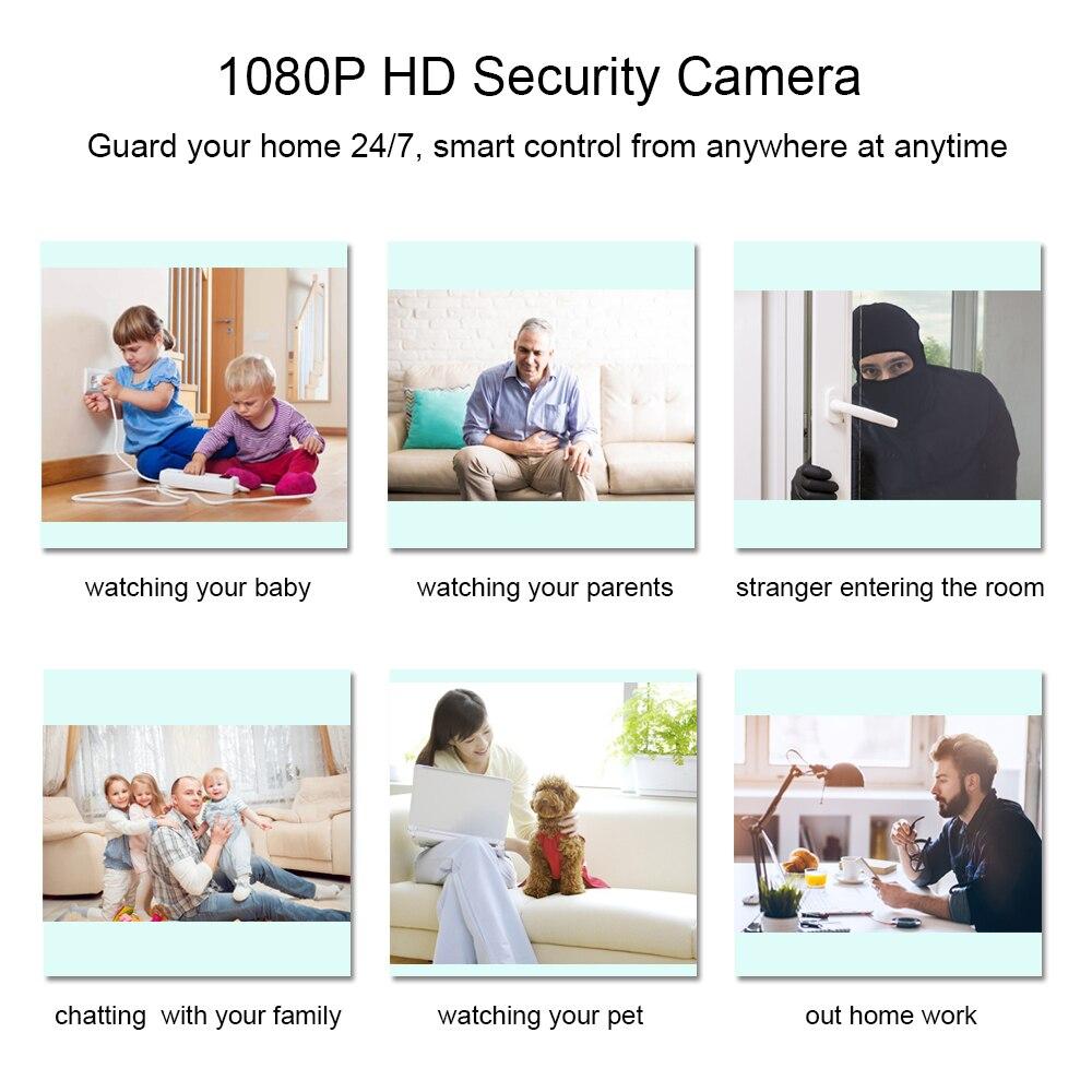 Купить умная беспроводная ip камера с функцией ночного видения 1080p