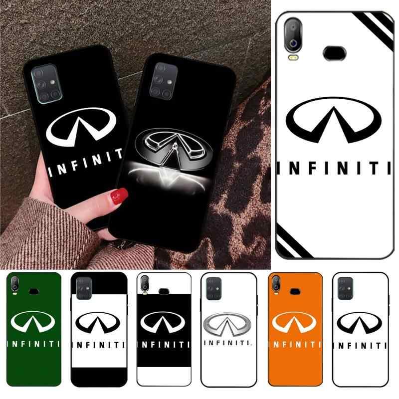 PENGHUWAN Super auto Infiniti Logotipo de lujo diseño único de la cubierta del teléfono para Samsung A10 A20 A30 A40 A50 A70 A80 A71 A51 A6 A8 2018