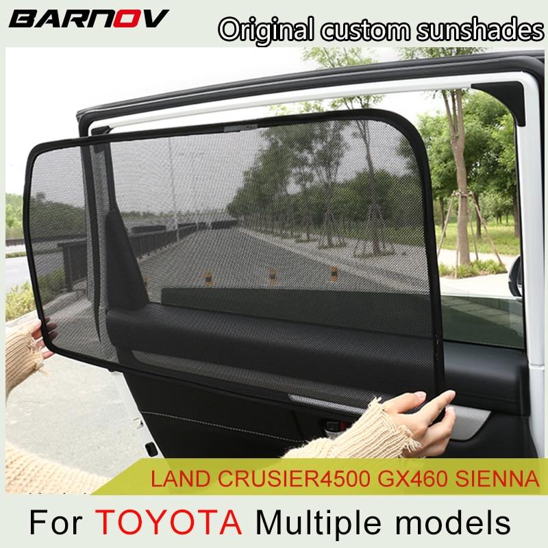 Car Special Magnetic Curtain Window SunShades Mesh Shade Blind Original Custom For Toyota Landcrusier-4500 GX400/460 Sienna