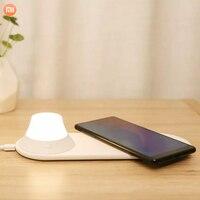 Original Xiaomi Yeelight Drahtlose Lade Nacht Licht Magnetische LED Nacht Licht Schnelle Lade für Xiaomi Samsung Huawei