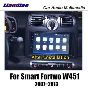 Image 5 - נגן מולטימדיה לרכב אנדרואיד עבור החכם Fortwo W451 2007 ~ 2014 רדיו סטריאו אביזרי וידאו Carplay מפת GPS ניווט לא DVD