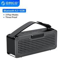 ORICO Tragbare Drahtlose 4.2 + EDR Bluetooth Lautsprecher Drei-proofing Musik Im Freien Surround Unterstützung TF AUX Karte Für Musik player