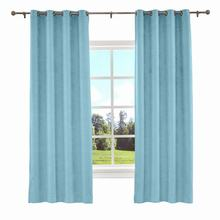 Kante Grommet Solid Polyester Cotton Curtain Window Drapery Size and Liner Custom 34 Colors (1 Panel)  ChadMade