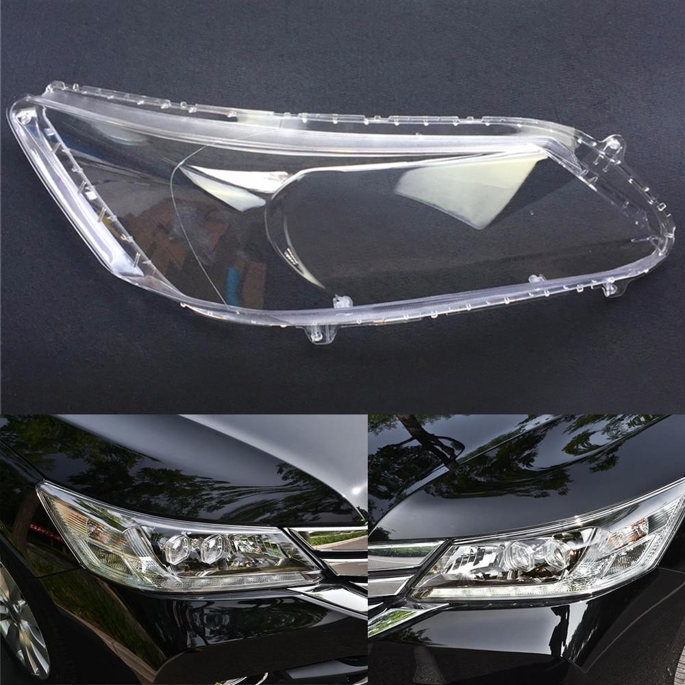 Car Headlight Lens For Honda Accord 2014 2015 2016 2017 2018 Headlamp Cover Car  Replacement  Lens Auto Shell Cover