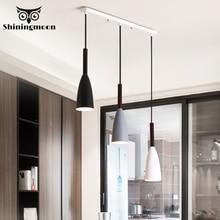 Nordic Minimalism Pendant Lights Modern Light Creative Aluminum E27 Restaurant Lamp Stair Kitchen Hanging Lamps