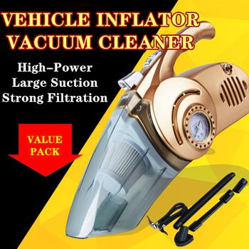 Wielofunkcyjny samochód pompa nadmuchiwana sprężarka powietrza suche i Weash podwójnego zastosowania pojazdu odkurzacz tanie i dobre opinie NoEnName_Null 1 5kg 12cm YLB-455 DC 12(V) 16cm 36cm