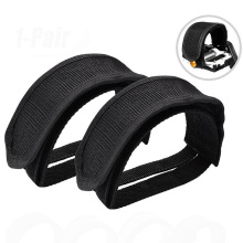 1 pair of Pedal Straps, Foot Pedal Straps Kids Pedal Straps Bike Pedal Straps Bike Foot Straps 1 pair bicycle cycling pedal straps belts fix bands tape generic for most schwinn