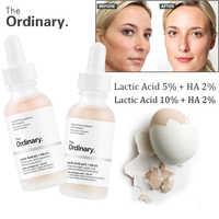 Il Comune di Acido Lattico 5% Lattico 10% + HA 2% Superficiale Peeling Formulazione 30ml Viso esfoliazione Della Pelle rimuovere le cicatrici macchie