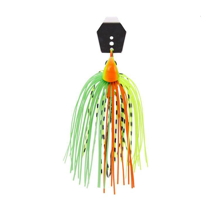 2020 Chatterbait Fishing Lures Weights10-14g Fishing Tackle Spinnerbait Fishing Accessories Isca Artificial Buzz Fish Bait Pesca-2