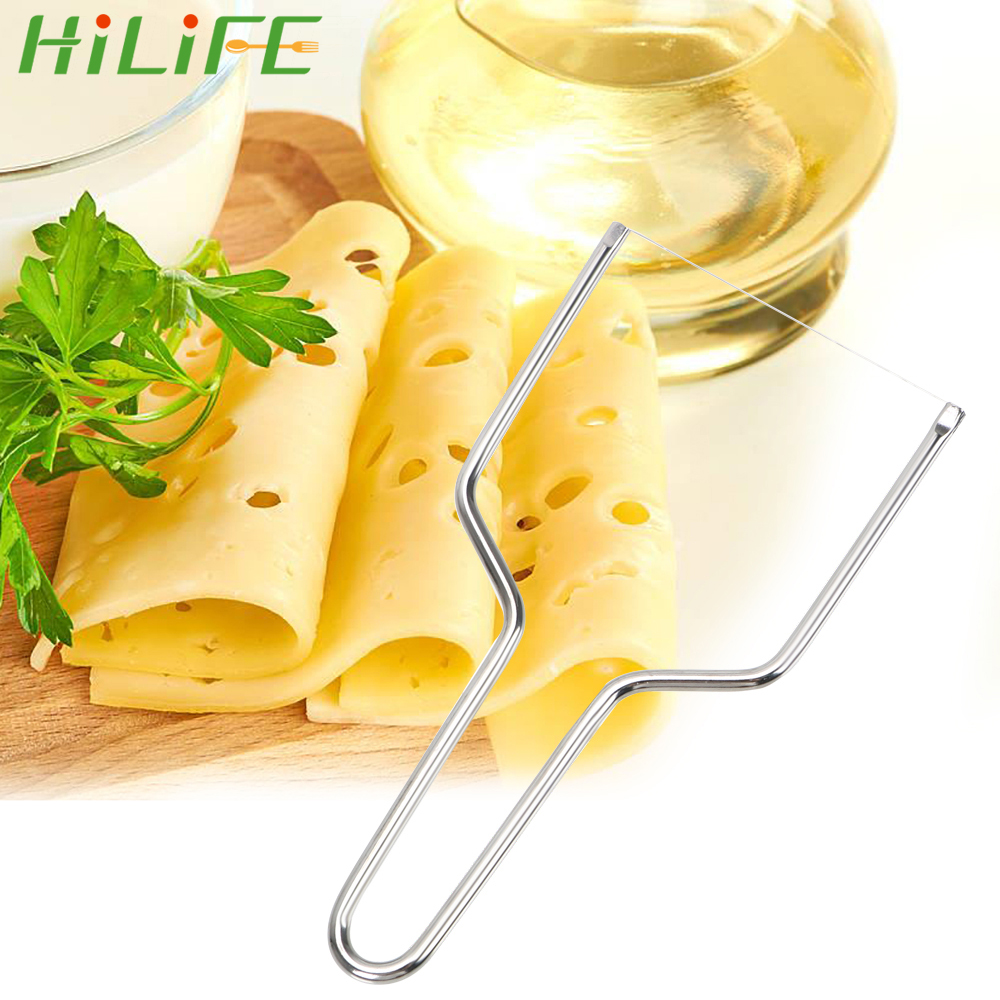 HILIFE Stainless Steel Eco-friendly Multi Functional Butter Cutter <font><b>Knife</b></font> <font><b>Board</b></font> DIY Practical Durable <font><b>Cheese</b></font> Slicer image