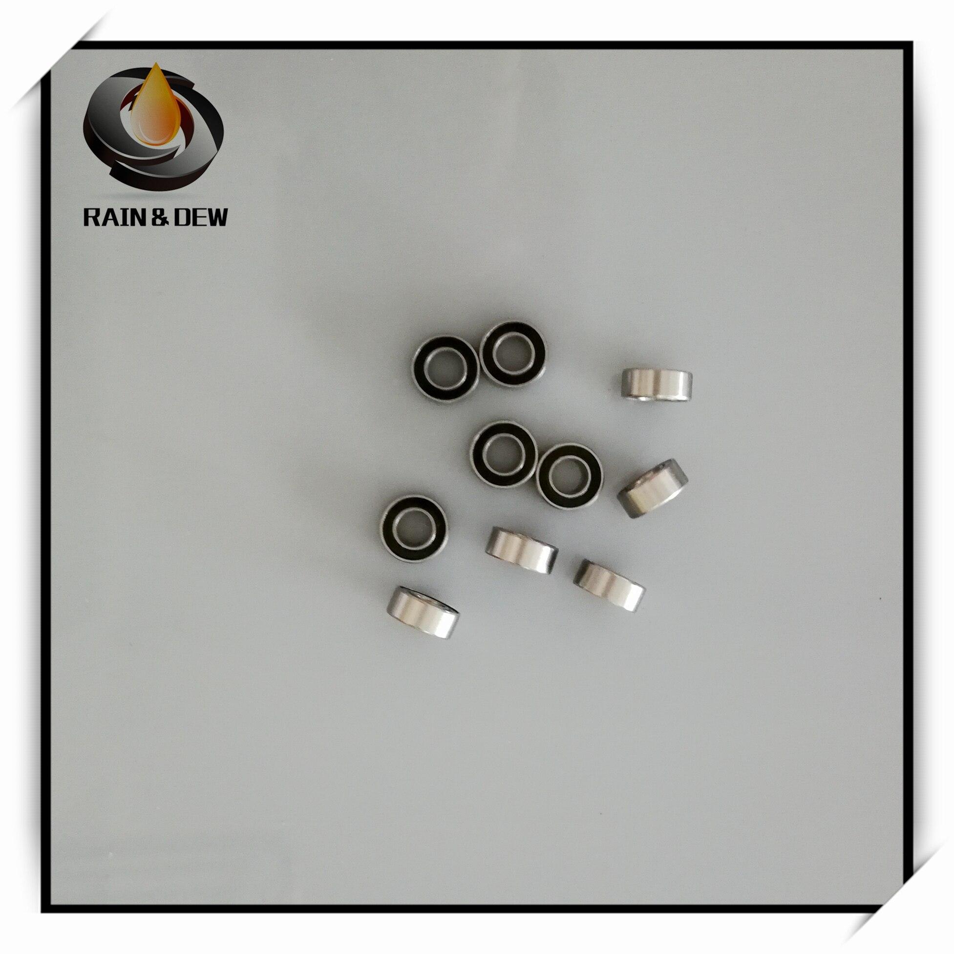 10 Pcs 5x9x3 Mm Ball Bearing SMR95 2RS   Stainless Steel Bearing SMR95-2RS ABEC-7 Anti-rust Bearing MR95 Miniature Ball Bearing