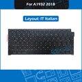 10pcs/Lot For Macbook Air 13.3 A1932 IT Italian Keyboard Replacement 2018 MRE82 EMC 3184