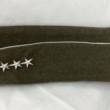 GARRISON CAP GENERAL HAT WWII Military-Hat OFFICER'S Us Army WOOL WW2 WAR MEN 3-Star