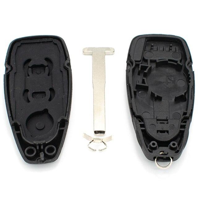 3 boutons voiture clé intelligente télécommande Fob couverture coque remplacement pour Ford Focus c-max Mondeo Kuga Fiesta Galaxy réparation automatique