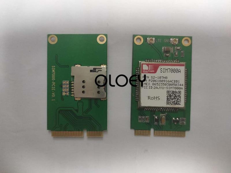 SIM7000A MINIPCIE CAT-M NBIOT Wireless Module, With SIM Card Slot,SIM7000
