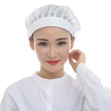 Hats Workshop-Caps Chef-Uniform Bakery Hotel Waiter Kitchen Restaurant Breathable Unisex