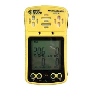 4 в 1 газовый анализатор мульти газовый монитор ручной детектор газа кислород O2 гидротион H2S окись углерода CO горючий газ AS8900