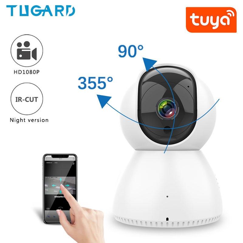 Купить tuya wi fi ptz 1080p ip камера для помещений hd умная наблюдения