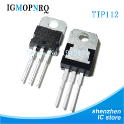 10PCS TIP112 TO-200 TIP112TU TO220 100V 2A new