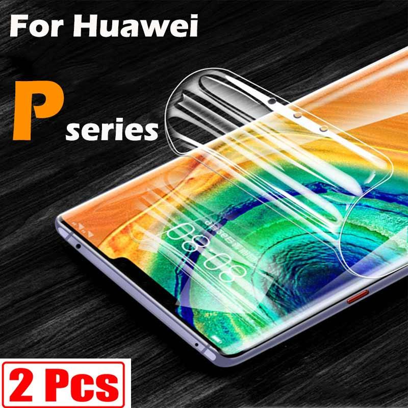 Screen protector für Huawei p40 lite p smart 2021 2019 p40pro p40lite p30 pro p20 nova 5t psmart p30lite licht lit weiche flim