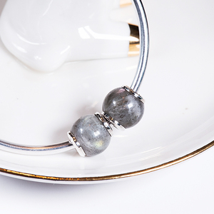 Image 2 - Moonstone 925 Sterling Silver beads charms fit Bracelets & Bangles TRBS005