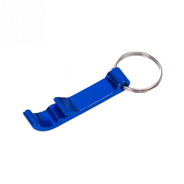Aluminium Portable Can Opener Key Chain Ring Can Opener Restaurant Promotion Gifts Kitchen Tools Birthday Gift Party Supplies 6