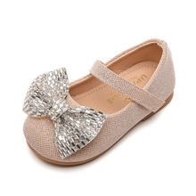Shoes Princess Little-Girls Kids Children New Autumn for Fashion Baby Mesh Pu Pu