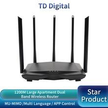 GC7 AC1200M WiFi Router Wireless Roteador mit 2,4 Ghz/5,0 Ghz High Gain Antenne Hause Abdeckung Dual Band Wifi repeater, einfache Einrichtung