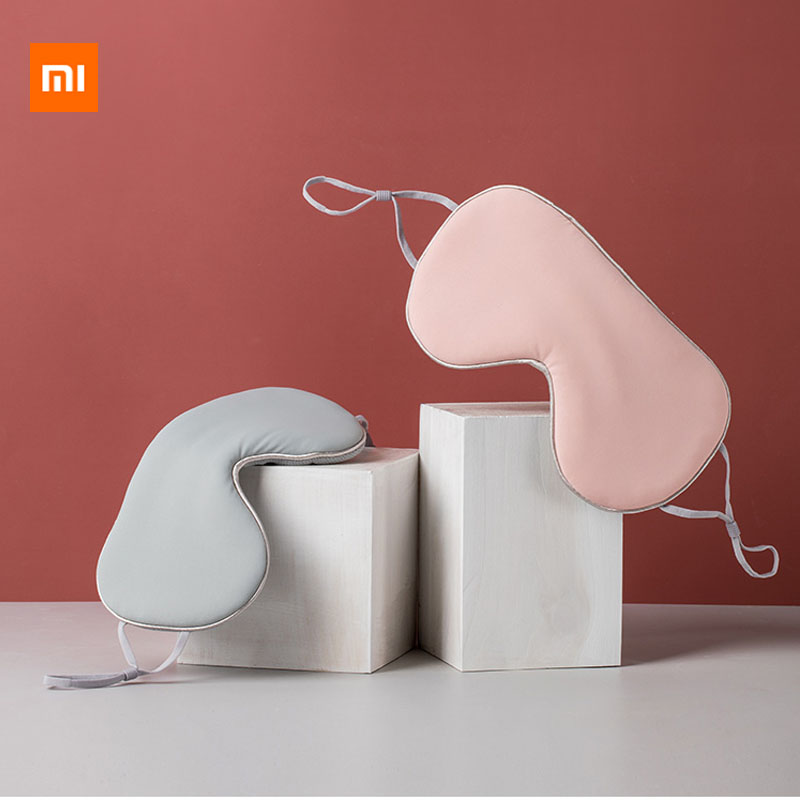 Xiaomi Jordan & Judy Eye Mask Shading Sleep Relief Eye Fatigue Double-sided Available Breathable Ice Silk Eye Patch