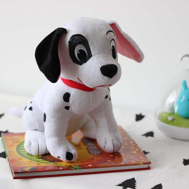 Sitting 28cm Original Cartoon 101 Dalmatians Dog Stuffed Animal Plush Soft Boy Toy for kids gift