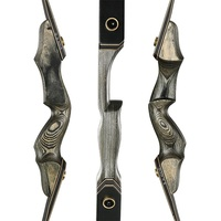 Toparchery 30-50lbs 60inch Take Down Hunting Bow For Right/Left Hand Wooden Riser Recurve Bow New-tech Limbs Shooting Outdoor