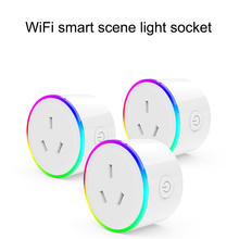 WiFi Smart Plug Socket with power Monitor Remote Control Timer Outlet Power Plug for Android/IOS Phone App  AU/EU/US/JP/UK Plug