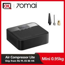 70mai – Mini compresseur à Air électrique portable pour pneus de voiture, moto, pompe de gonflage