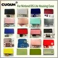 Чехол для Nintendo DS Lite  22 чистых цвета  полный корпус  корпус с бесплатной отверткой и пленкой