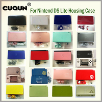 22 Pure Colors Full Housing Shell Case Cover For Nintend DS Lite Console Case Housing Shell With Free Screwdriver & Film