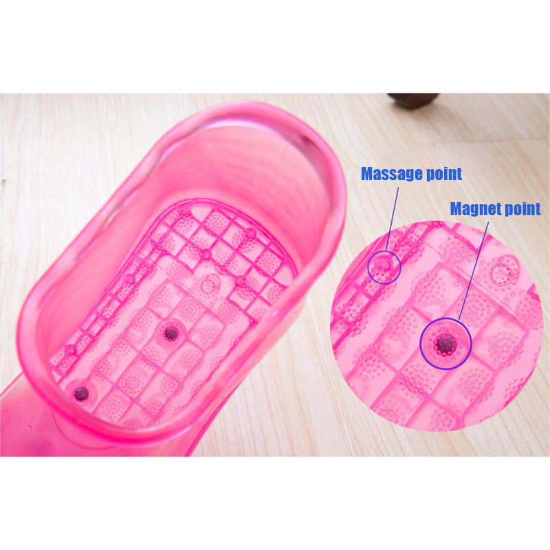Foot Bath Massage Boots SPA Household Relaxation Bucket Boots Feet Care Hot Compres Shoes INTE99