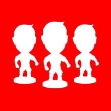 LIVFC Football Soccer Star 6.5 cm Height Resin Dolls 2.5 Action figure Player toys