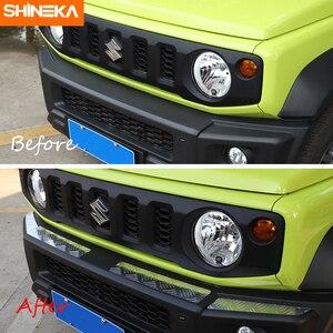 Image 5 - Shineka Aluminium Bumpers Bescherming Voor Suzuki Jimny Auto Voorbumper Versieringen Cover Panel Accessoires Voor Suzuki Jimny 2019 +