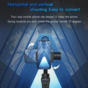 Image 3 - KEELEAD stabilisateur de cardan S5B 3 axes bluetooth portable avec mise au point et zoom pour téléphone Xs Xr X 8 Plus 7 caméra daction