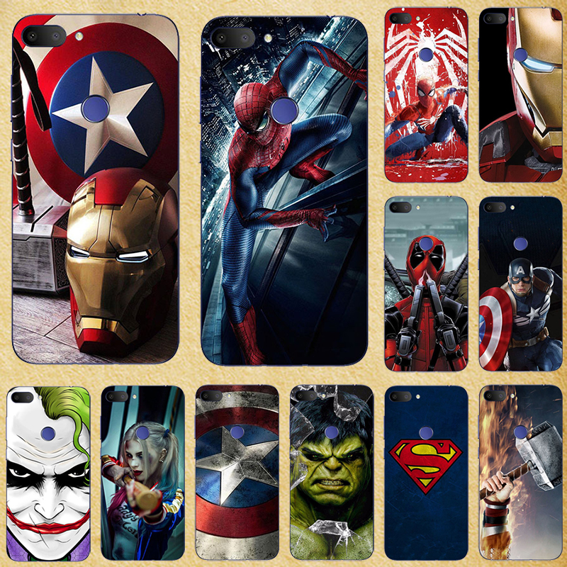 Super Hero <font><b>Phone</b></font> <font><b>Case</b></font> Cover For <font><b>Alcatel</b></font> 1S <font><b>Case</b></font> For <font><b>Alcatel</b></font> 1C 5033 5009 Silicone Cover For <font><b>Alcatel</b></font> 3 2019 1S <font><b>1X</b></font> 3C 3V Coque image