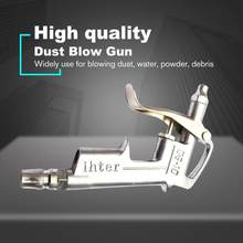 DG-10 Air Blow Gun Pistol Trigger Cleaner Compressor Dust Blower 8 inch Nozzle Air Blow Gun Cleaning Tool for Compressor(China)