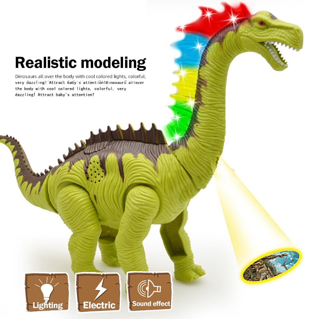 ELECTRIC DINOSAUR Fancy Toys WALKING ROBOT SOUND LIGHT KIDS MOVING TOY Figures